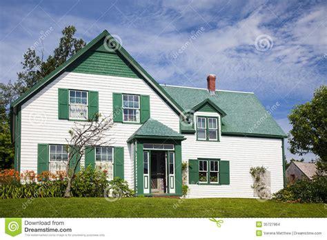 green gables house stock photo image  maritime