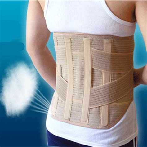 Lumbar Support by Back Magnetic Therapy Waist Support Belt Widen Lumbar