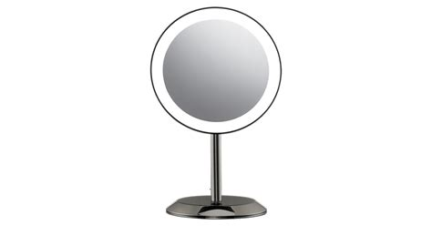reflections led lighted collection mirror conair reflections led 10x magnification mirror