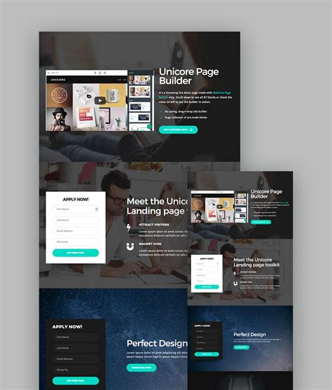 18 Best Responsive Html5 Landing Page Templates 2018 Best Html5 Templates 2018