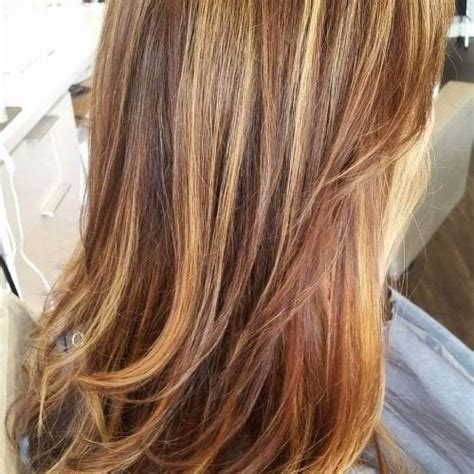 caramel balayage hair color newhairstylesformen2014 com chestnut hair color with caramel highlights