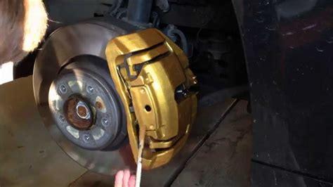 Bremssattel Lackieren Bmw E90 by Bmw E92 335i Painting Brake Calipers Prestige Gold