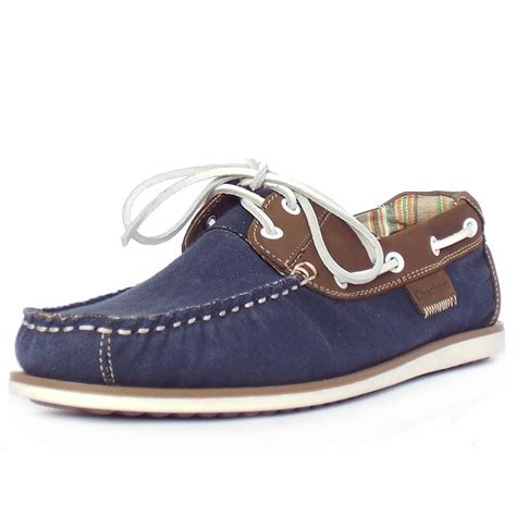 navy shoe chatham marine mastway s canvas boat shoes in navy