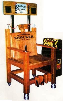 electric chair arcade shocker electric chair arcade simulator hire novel