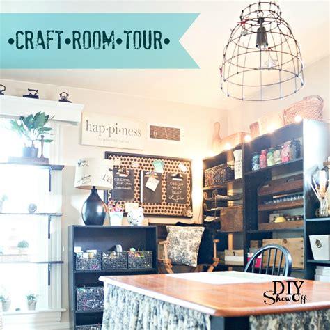craft room tour craft room tour at diyshowoff comdiy show diy decorating and home improvement
