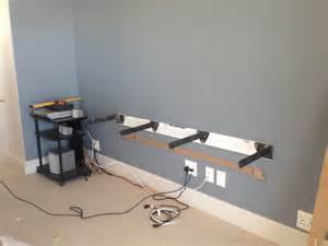 floating bracket bookshelves ode floating television unit install mirror edge networks