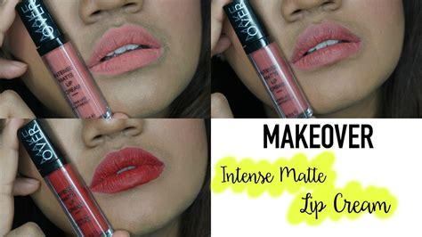 Lip Make Makeover Matte Lipcream Lip review swatch makeover matte lip terb