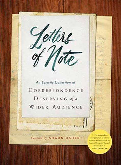 Letters Of Note u s edition of letters of note book a collection of