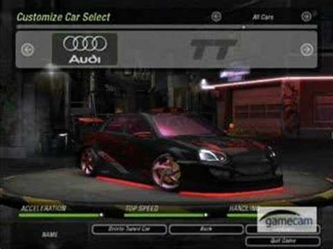 Schnellstes Auto Bei Need For Speed by Need For Speed Underground 2 Best Cars