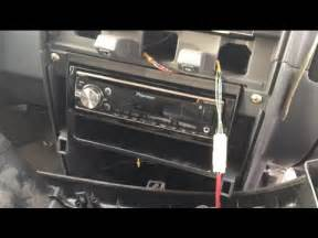 2000 2004 nissan frontier pioneer deh x6700bt stereo install replacement