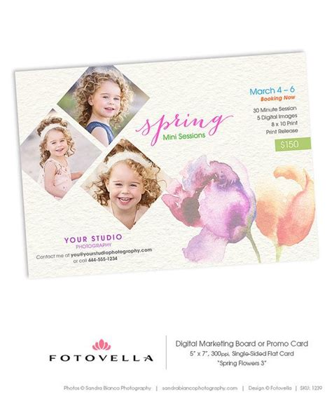 Easter Card Templates For Photoshop by Easter Mini Session Template By Fotovella Featured