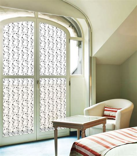 fensterfolie dekor fensterfolie bl 252 tenranken selbstklebend dekofolie