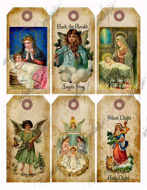 printable christmas tags christian items similar to religious christmas tags download