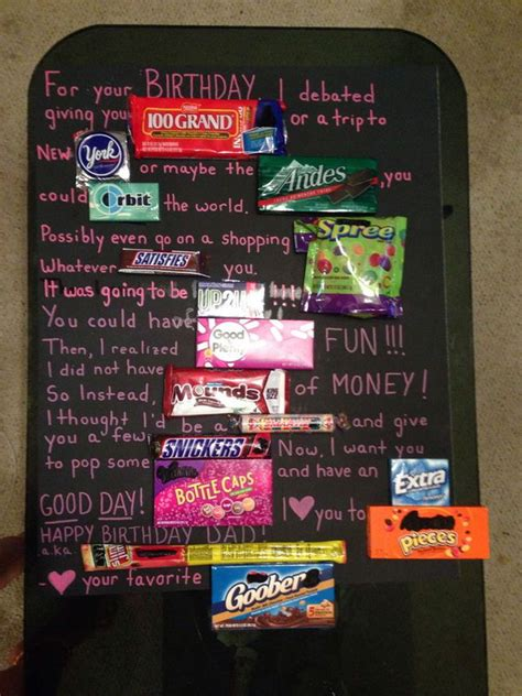Bar Birthday Card Sayings Candy Bar Poster Ideas With Clever Sayings Hative