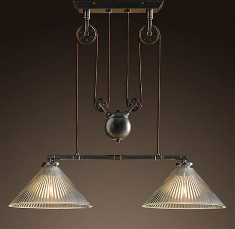 Pulley Ceiling Light Vintage Ceiling Lights That Are On Pullys Industrial Pulley Pendant Utility Pendants
