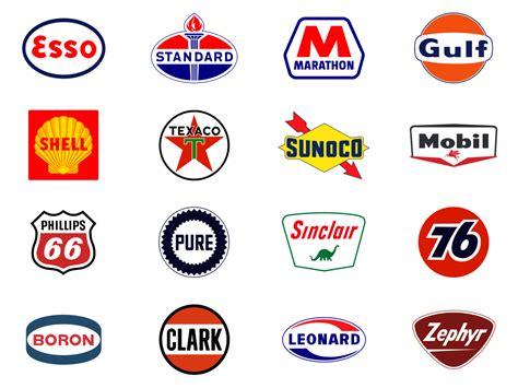 Emblem Vespa 60s classic gas station logos story by chuck victor