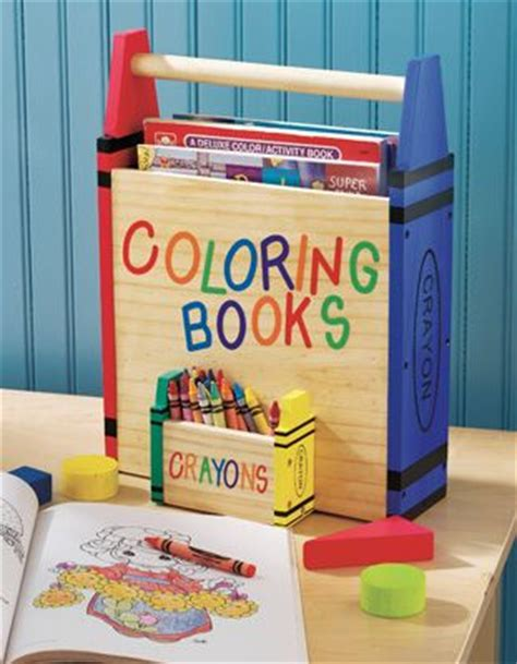 coloring book storage coloring book and crayons storage carrier to build