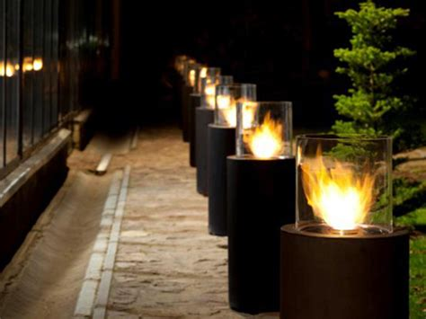 Biofuel Outdoor Fireplace by Outdoor Freestanding Fireplace Totem Commerce By Planika