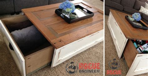diy coffee table with storage 6 step by step tutorials on diy coffee tables with