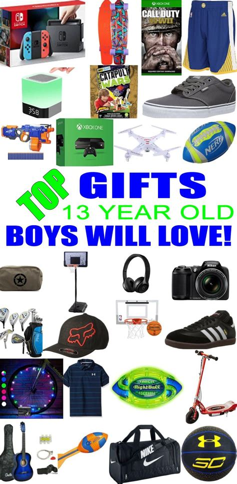 best gifts for 13 year old boys gift suggestions