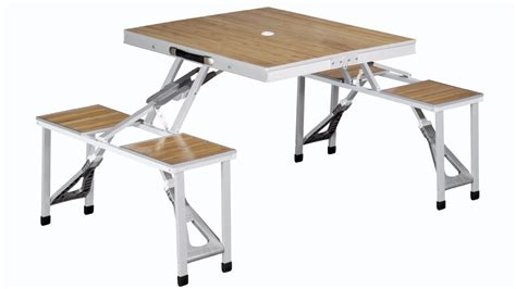 outwell dawson folding picnic table  chair set