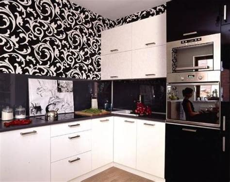 wallpaper kitchen cabinets how to decorate kitchen cabinets with wallpaper 5 guides