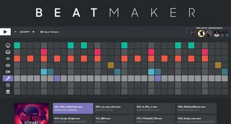 online house music maker beat maker online beat making tool djmag com