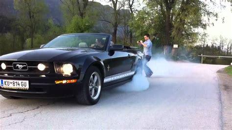 mustang v6 drift ford mustang 4 0 v6 burnout