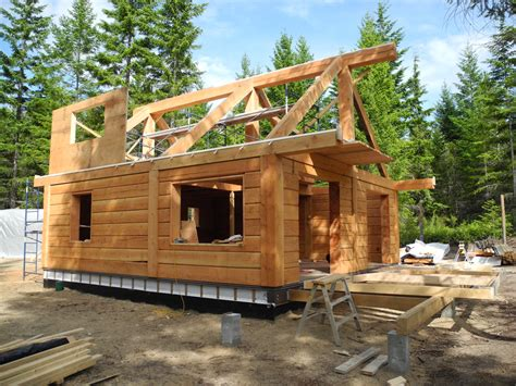 New Craftsman House Plans gulf islands log cabin update tamlin homes timber