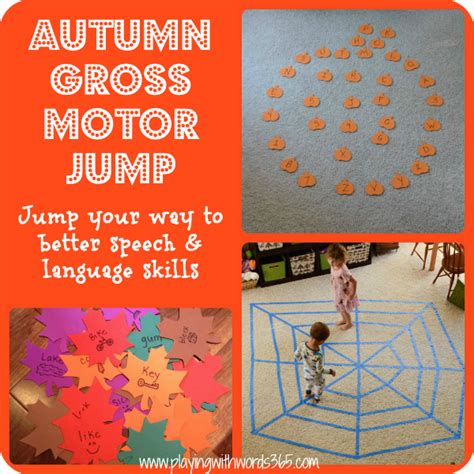 fall gross motor activities therapy ideas and activities archives page 2 of 7