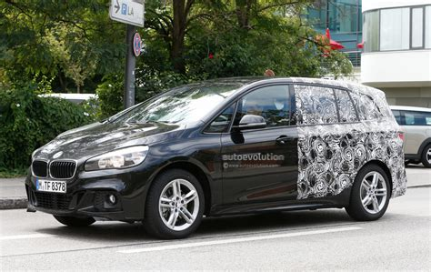 bmw 2 series active tourer 7 seater spotted wearing m