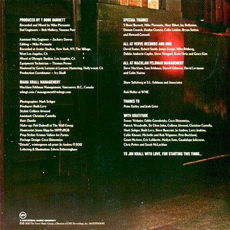 rag doll album graffiti diana krall album covers 1994 2012