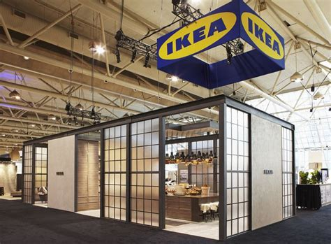 booth design canada ikea canada kitchen design show ikea pop up event