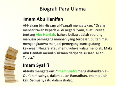 biodata imam al syafi i konsep ilmu dalam islam