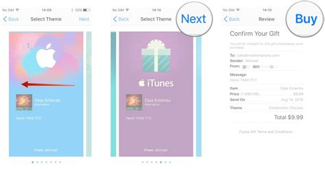 How To Retrieve Itunes Gift Card - how to gift and redeem content on the itunes store for iphone and ipad imore