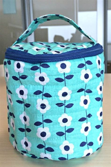 free pattern makeup bag round makeup bag with inside pockets free pattern the