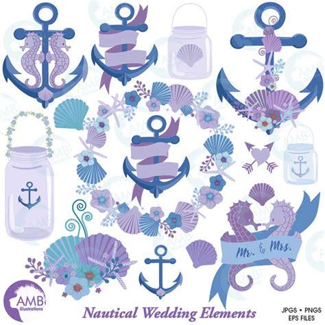 Nautical Wedding Clipart by Nautical Clipart Shabby Chic Wedding Clip