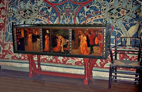 St Morris Upholstery by William Morris Cabinet E2bn Gallery