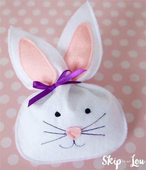 Bunny Bag by Felt Bunny Treat Bag Skip To My Lou