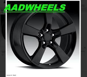 2010 camaro bolt pattern 20x9 2010 2011 2012 camaro ss black wheels rims tires bolt