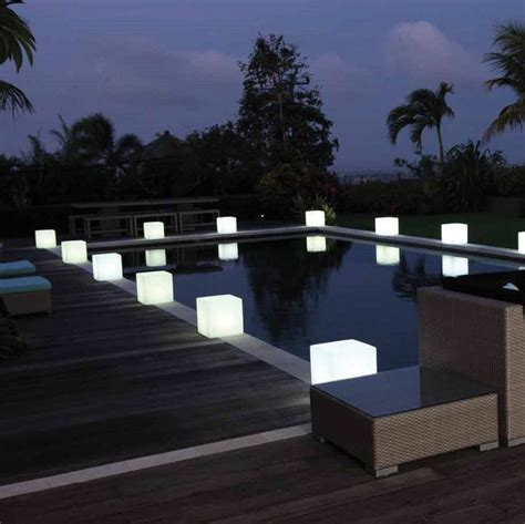 Outdoor Light Cube Colour Changing Outdoor Light Cube By Jusi Colour Notonthehighstreet