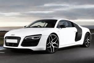 audi r8 matte white wallpaper