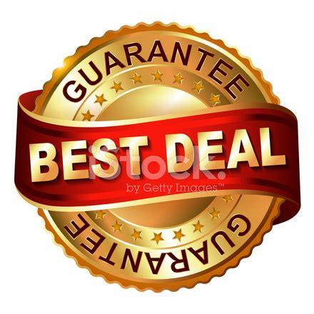 best deal best deal golden label with stock vector freeimages