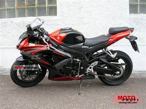 2008 Suzuki Gsxr 750 Suzuki Gsx R 750 2008 Specs And Photos