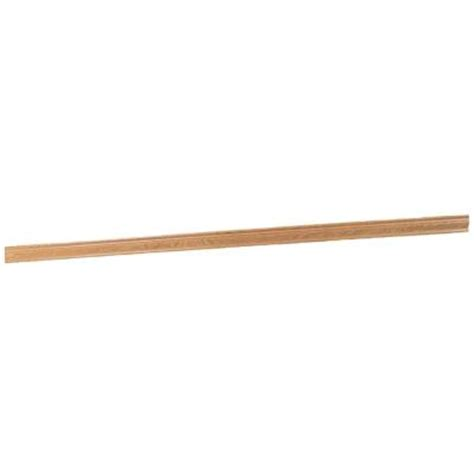 home depot crown molding for cabinets hton bay 2 in x 2 in crown molding in medium oak