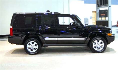 2008 Jeep Commander Tire Size Stock Tires Don T Do The Commander Justice Jeep