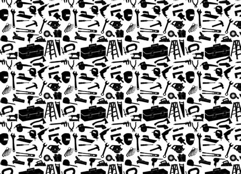 seamless pattern tool seamless background of tool patterns on creative market