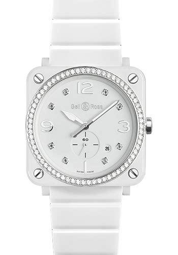 Bell Ross Br S White bell ross br s quartz white ceramic watches from swissluxury