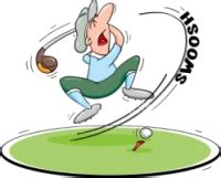golf swing cartoon great golf jokes