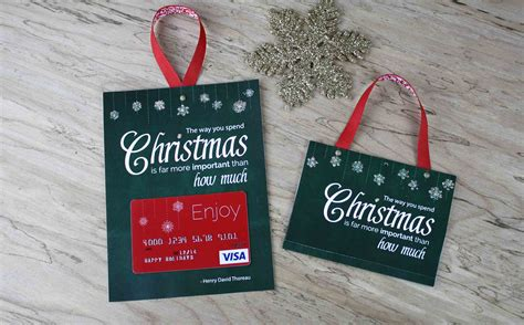 Visa Christmas Gift Cards - free printable gift card holder spend christmas